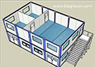 Widely Use of Qingdao Container House --- Lida Integrated Building